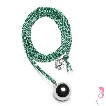 Proud MaMa Ballchain Babybel Ketting Twist green/silver