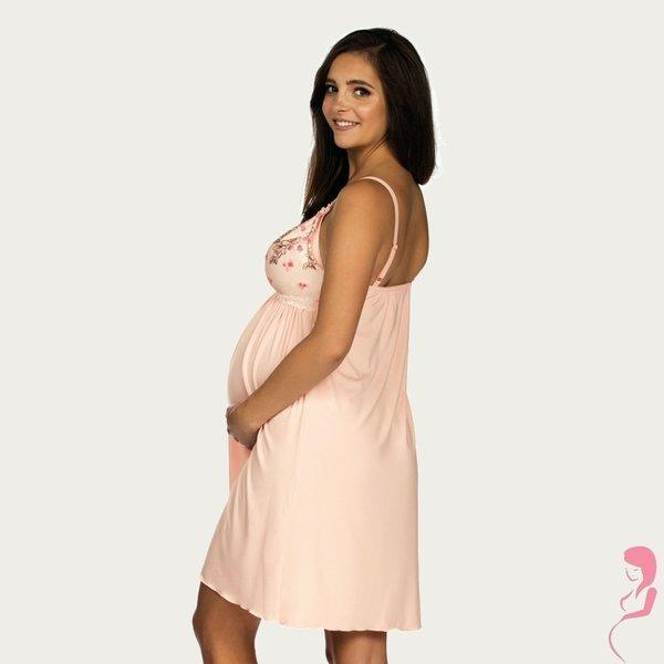 Lupoline Zwangerschapsjurk / Voedingsjurk Pink Flower
