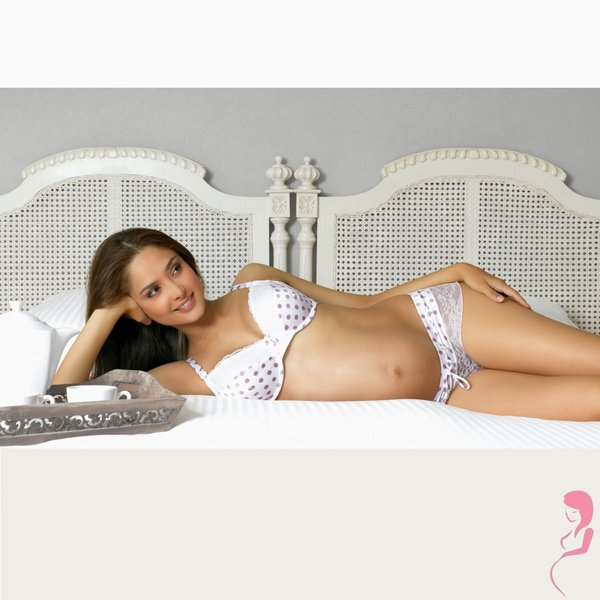 Cache Coeur Voedingsbeha Chantilly Dots