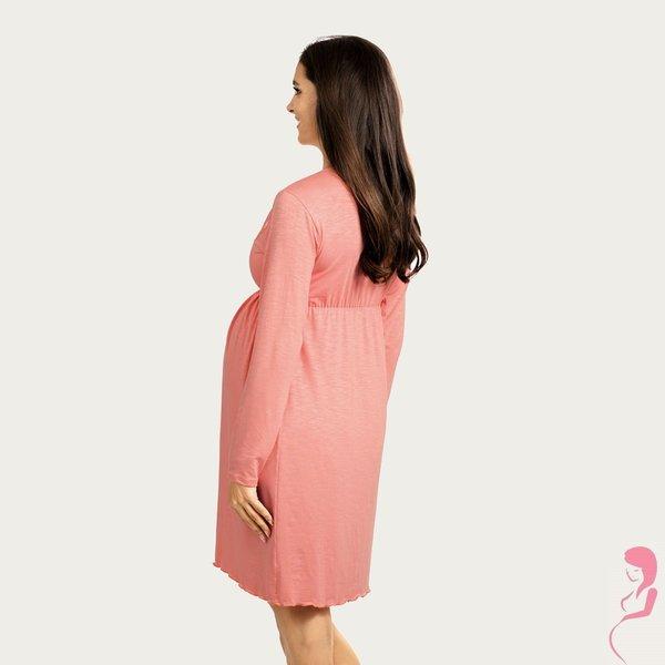 Lupoline Zwangerschapsjurk / Voedingsjurk Rosa