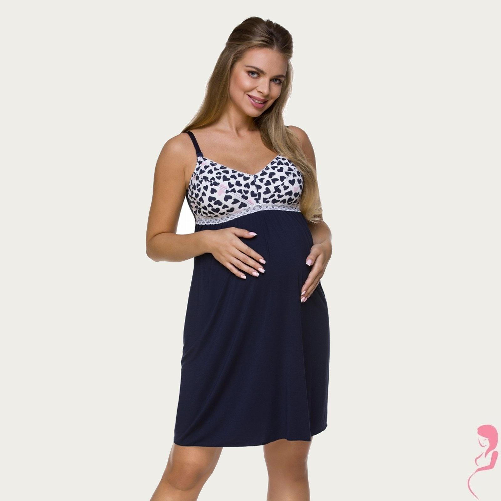 Lupoline Zwangerschapsjurk - Voedingsjurk Lovely Hearts