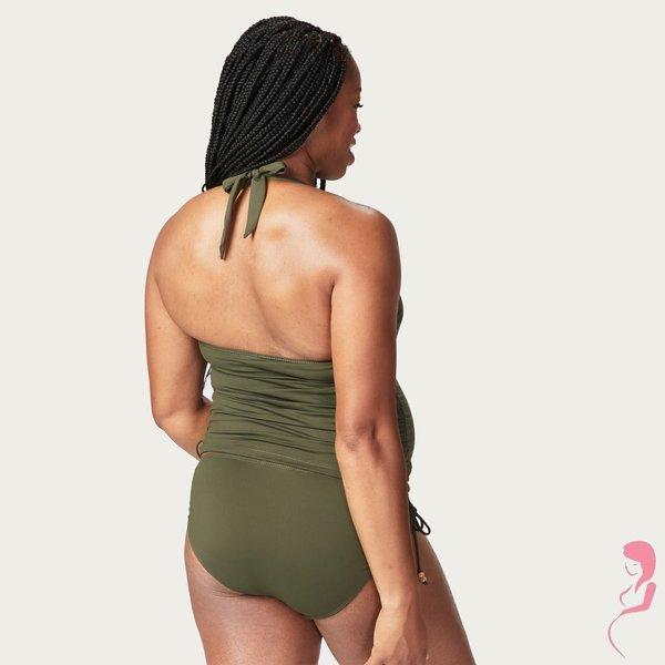 Rosewater PositieTankini / ZwangerschapsTankini Coconut Groen