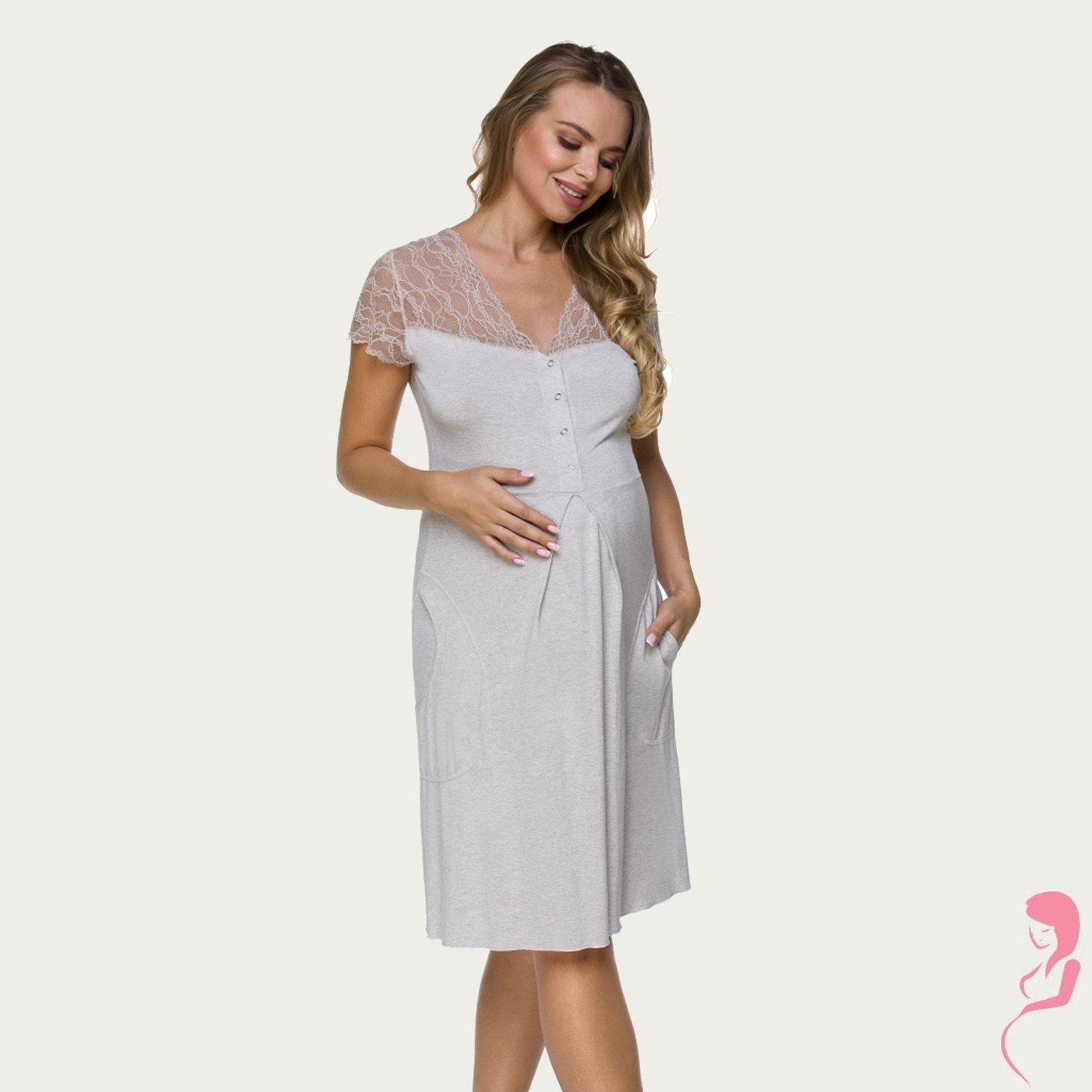 Lupoline Zwangerschapsjurk - Voedingsjurk Soft Nights