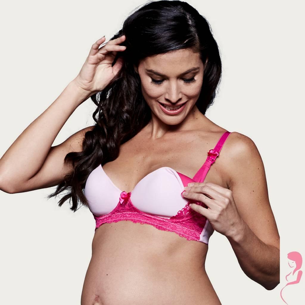 You Lingerie Voedingsbeha - Zwangerschapsbeha Flirty Rose