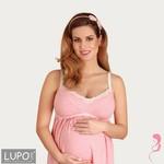 Lupoline Zwangerschapsjurk / Voedingsjurk Pink Candy