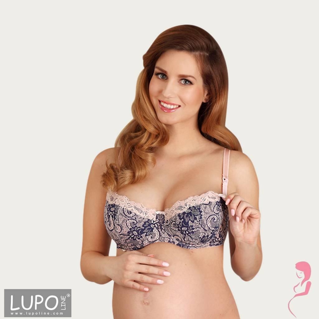 Lupoline Voedingsbeha - Zwangerschapsbeha Romantic Pink
