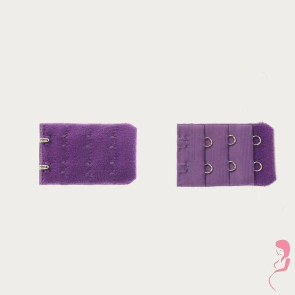 Op en Top Zwanger bh Verlengstuk / Verlenger 2 Haaks Paars (per stuk)