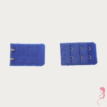 Op en Top Zwanger bh Verlenger 2 Haaks Helder Blauw (per stuk)