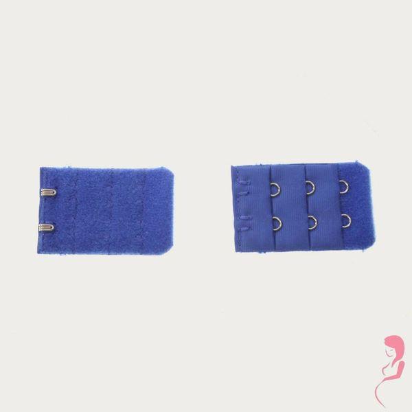 Op en Top Zwanger Beha Verlengstuk / Verlenger 2 Haaks Helder Blauw (per stuk)