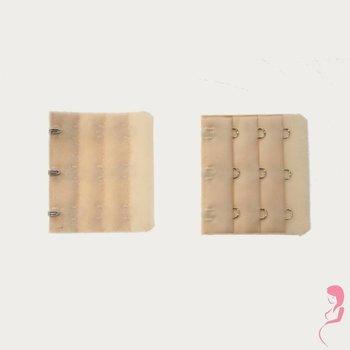 Op en Top Zwanger bh Verlengstuk 3 Haaks Huidskleur (per stuk)