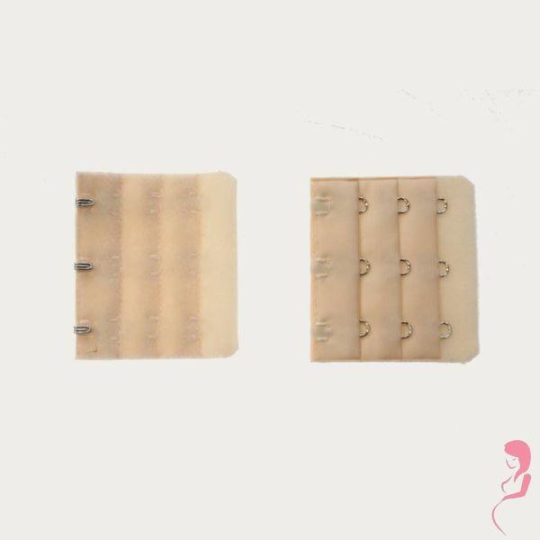 Op en Top Zwanger Beha Verlengstuk / Verlenger 3 Haaks Huidskleur (per stuk)
