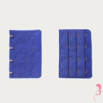 Op en Top Zwanger Beha Verlengstuk 4 Haaks Helder Blauw (per stuk)