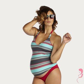 Pez D'or ZwangerschapsTankini Caribbean Striped