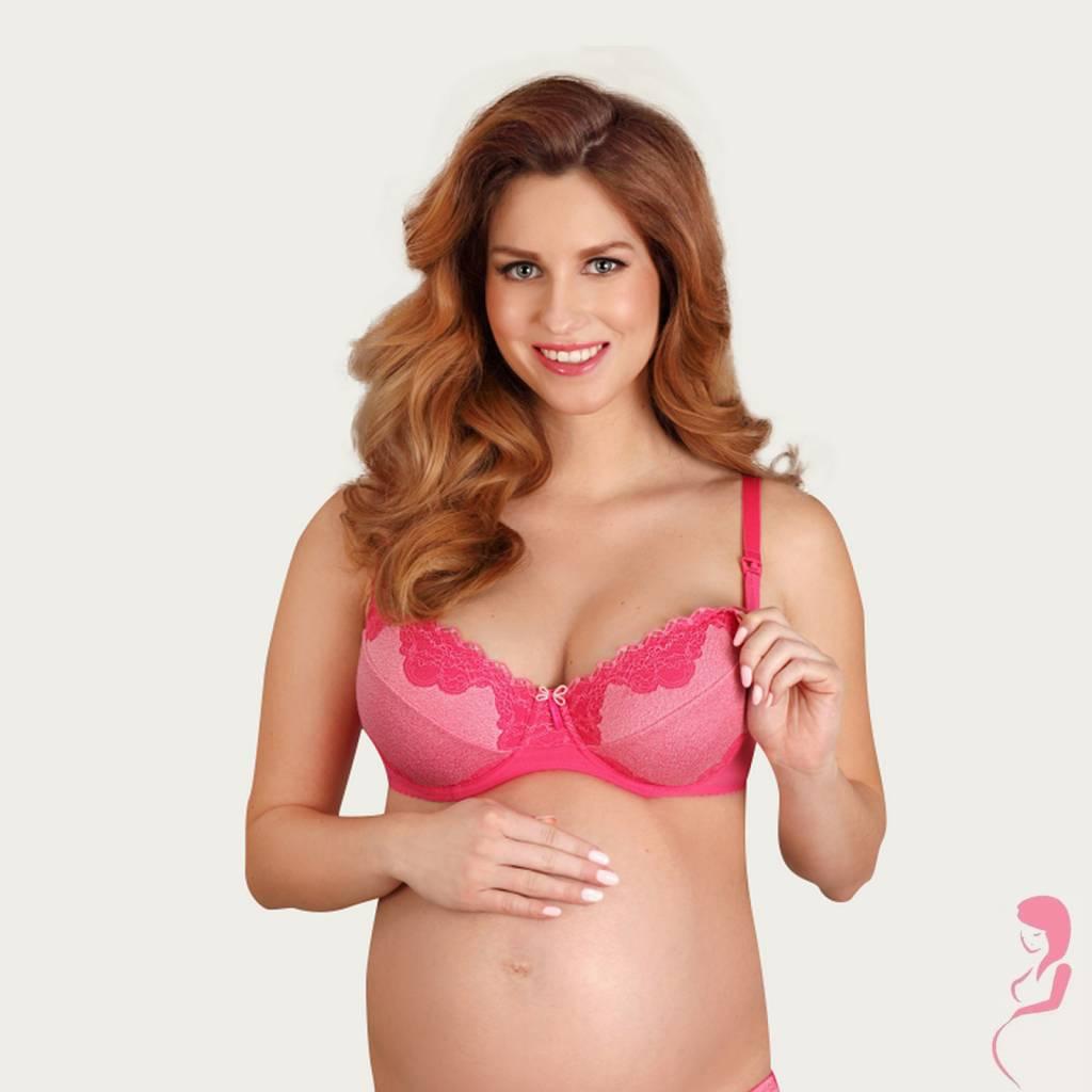 Lupoline Zwangerschapsbeha - Voedingsbeha Hot Pink