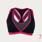 Cake Lingerie Yoga / Sport speciaal voor de borstpomp Lotus Zwart / Rose