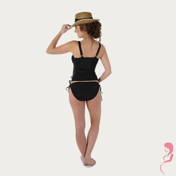 Petit Amour ZwangerschapsTankini / PositieTankini Cameron Black MaxiCup