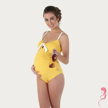 Petit Amour Zwangerschapsbadpak Antonie Yellow