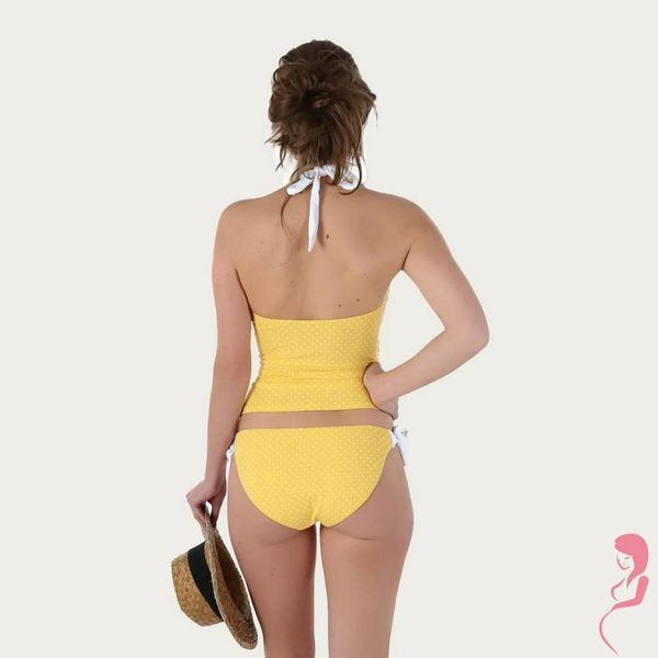Petit Amour ZwangerschapsTankini / PositieTankini Annie Geel / Yellow