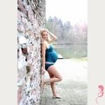 Petit Amour ZwangerschapsTankini / PositieTankini Amanda Groen