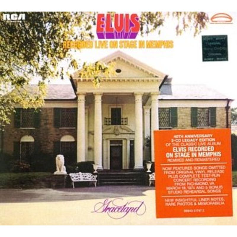Elvis Recorded Live on Stage in Memphis - 2CD Legacy Edition