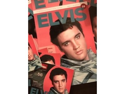 Magazine met CD - ELVIS 56