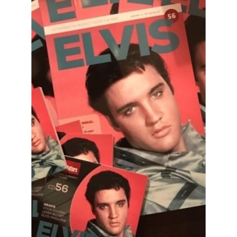 Magazine met CD - ELVIS 56