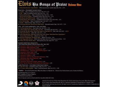 His Songs Of Praise Vol. 2 - FTD Book