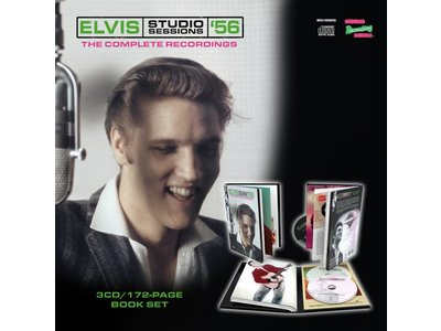 MRS - Elvis Studio Sessions 56-3 CD