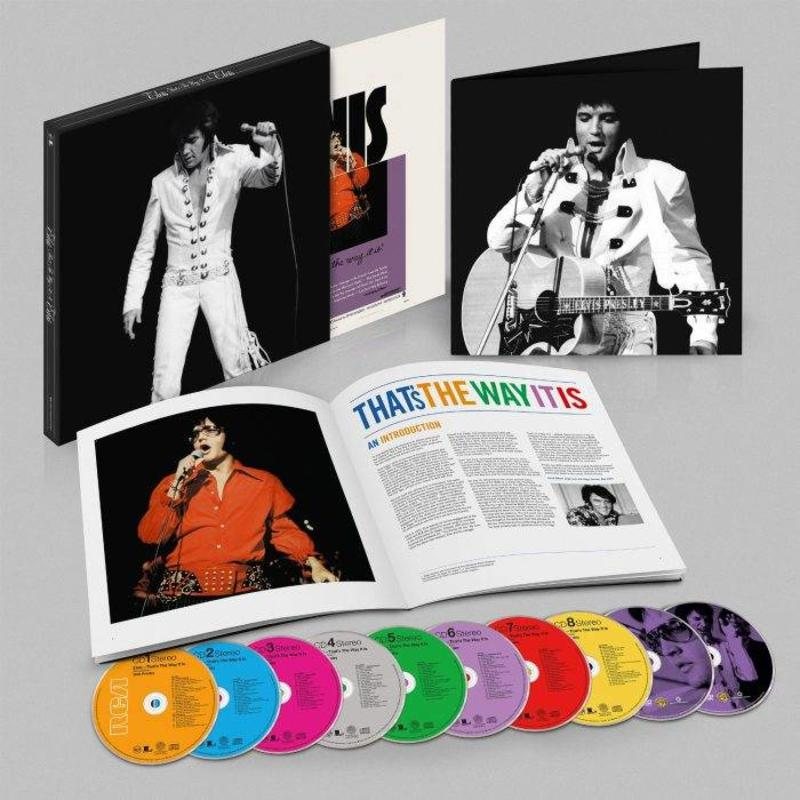 Elvis, That's The Way It Is (Deluxe Edition) - 8 CD - 2 DVD Set