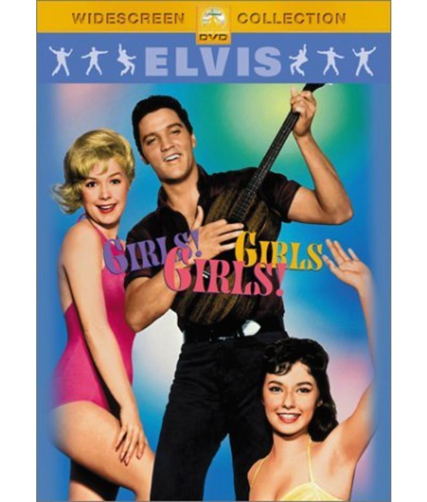 DVD - Girls, Girls, Girls