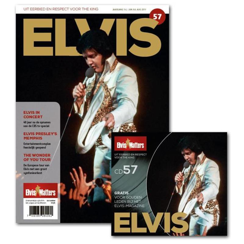 Magazine Met CD - ELVIS 57