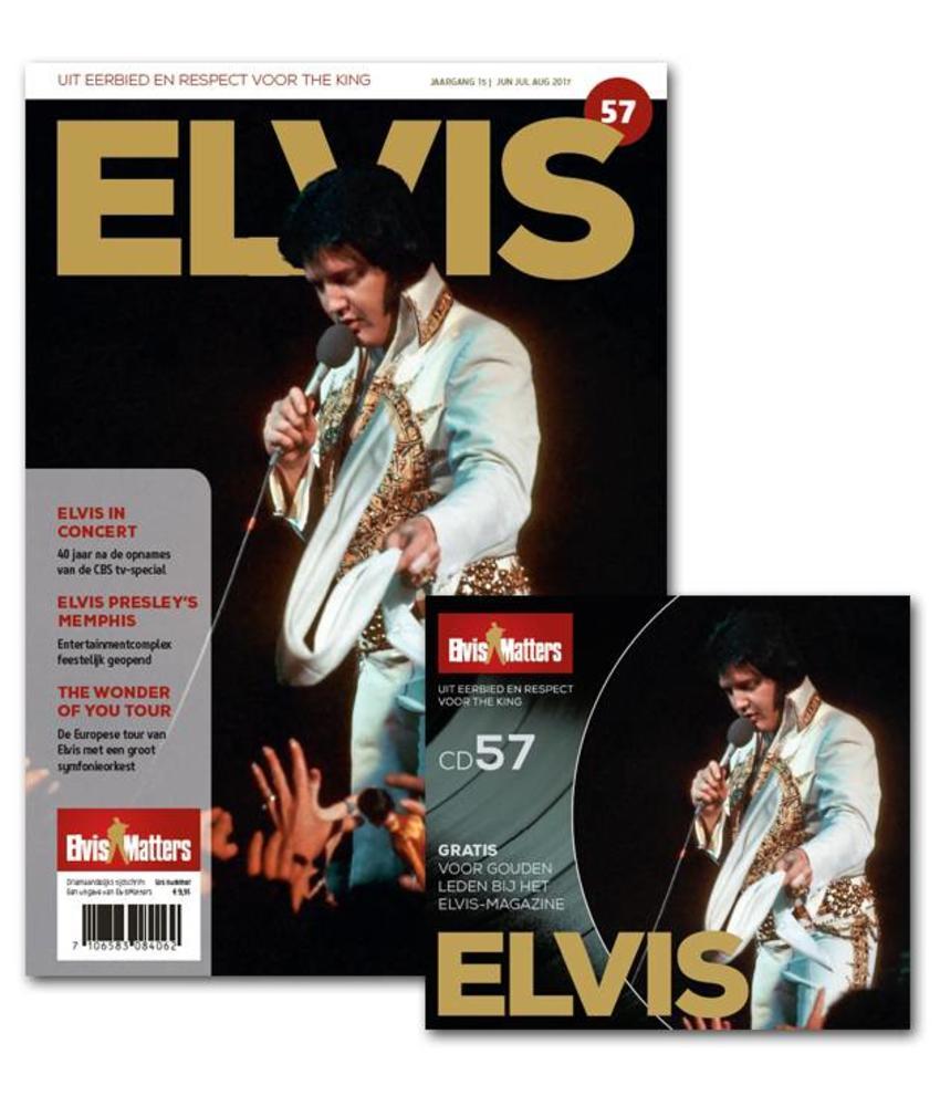 Magazine With CD - ELVIS 57