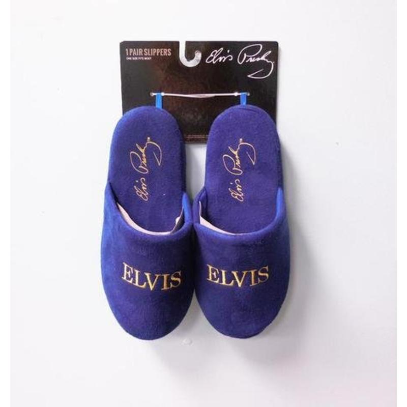 Slippers Elvis Blue Suede Shoes