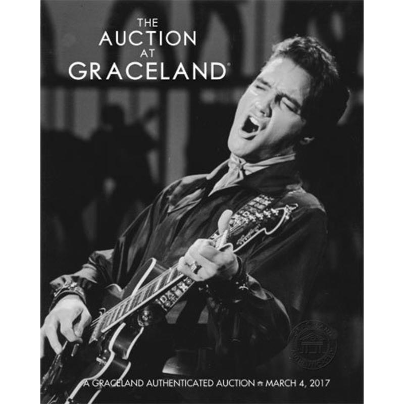 Graceland - Elvis Auction Catalog - March 2017