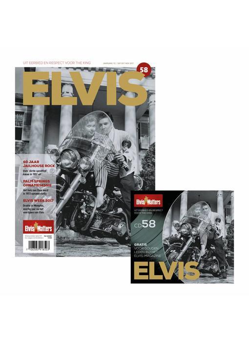 Magazine Met CD - ELVIS 58