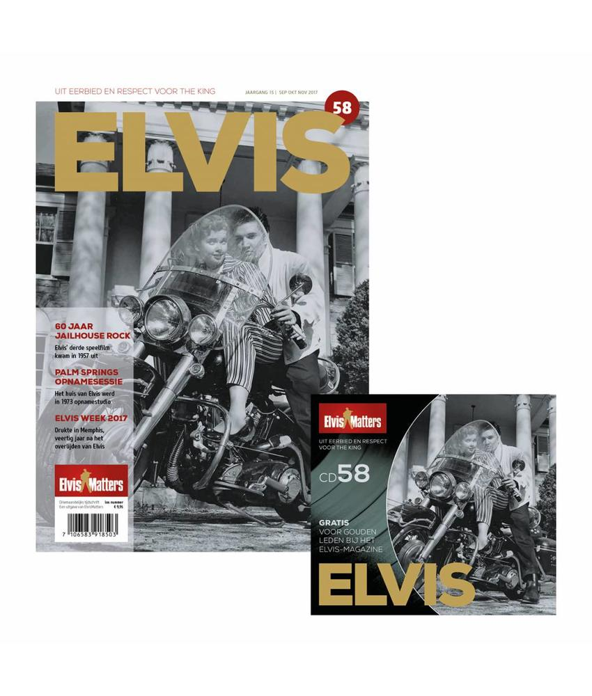 Magazine Met CD - ELVIS 58