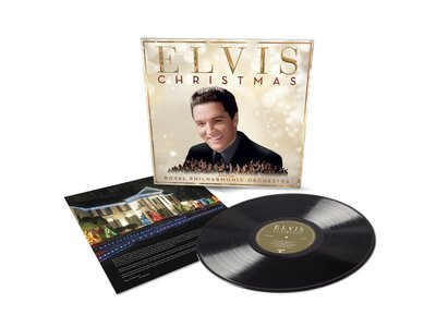 Christmas With Elvis Presley And The Royal Philharmonic Orchestra Vinyl LP