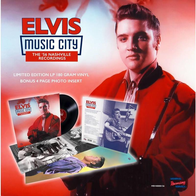 MRS - Music City – The '56 Nashville Recordings Of Elvis On Vinyl