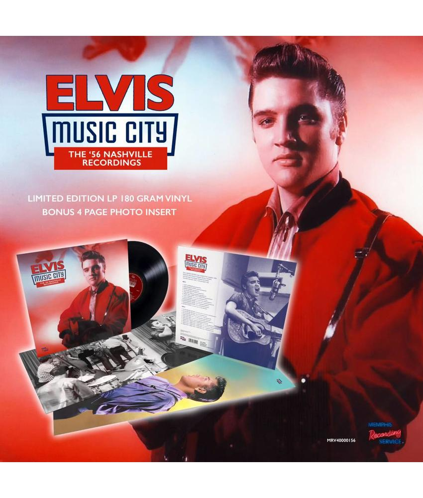 MRS - Music City – The '56 Nashville Recordings Of Elvis On Vinyl
