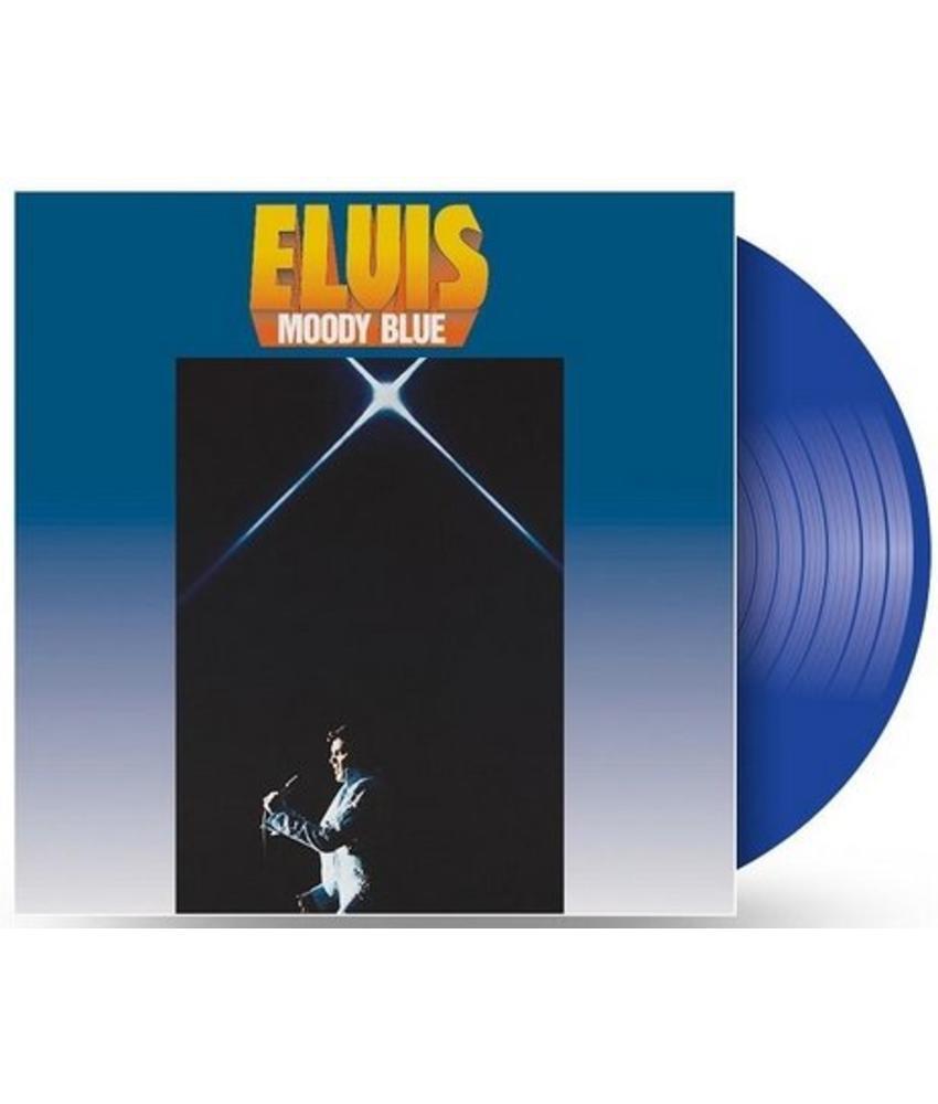 Moody Blue - Clear Blue Vinyl - 40th Anniversary Elvis' Passing