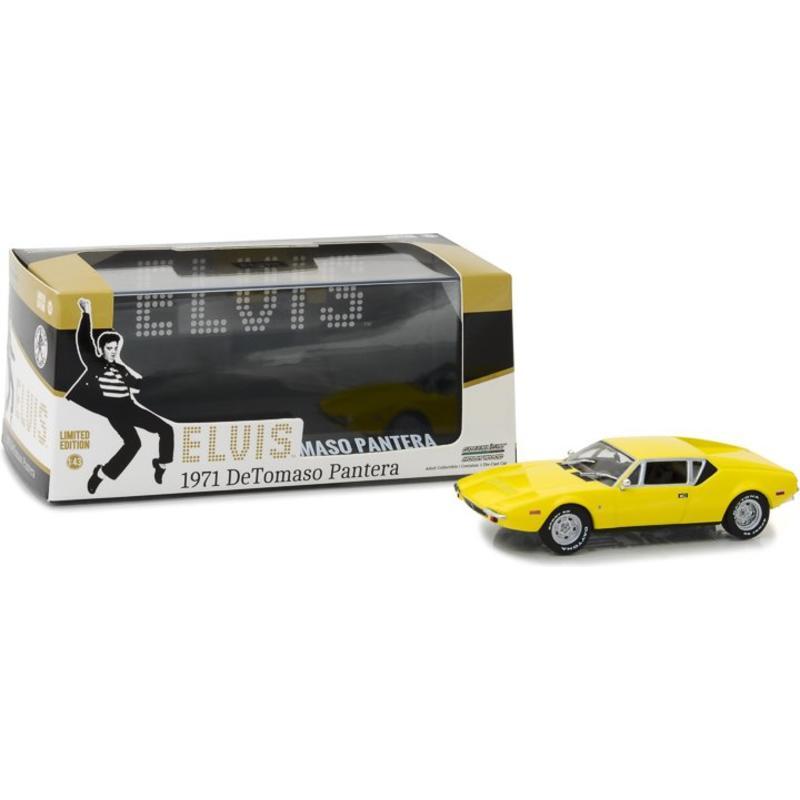 The Tomaso Pantera - Elvis 1971 Sports Car - Scale 1/43
