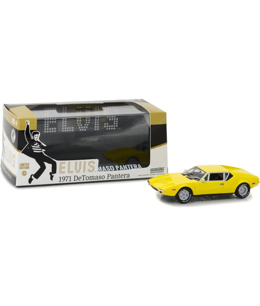 The Tomaso Pantera - Elvis 1971 Sports Car - Scale 1/43