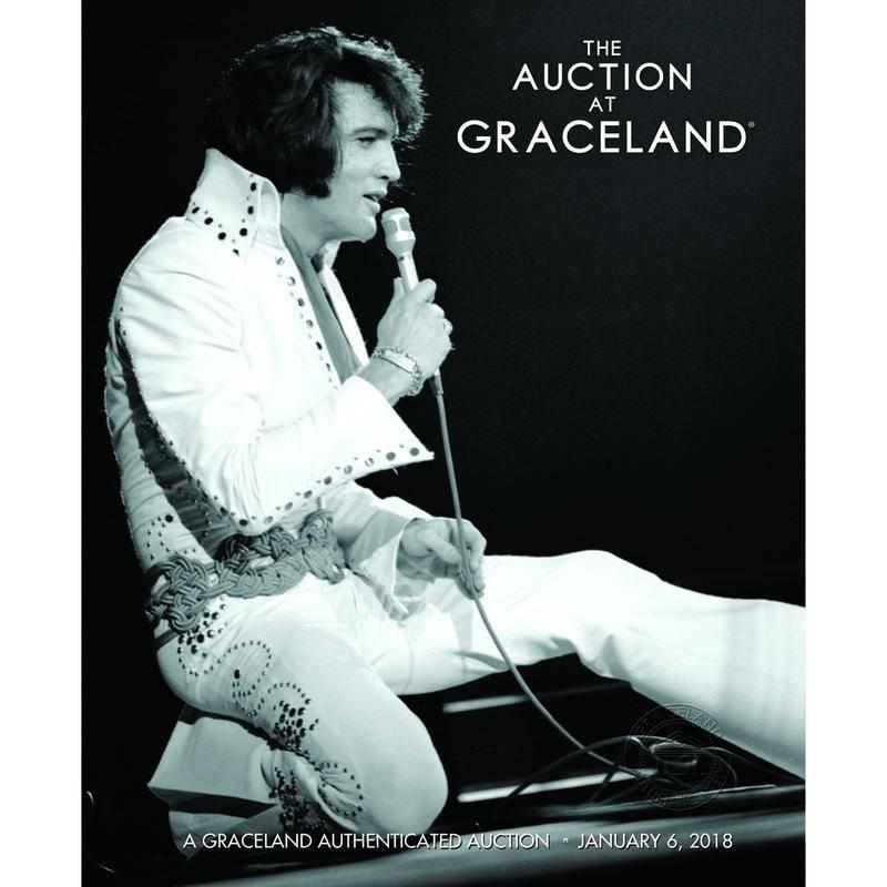 Graceland - Elvis Auction Catalogue - Januari 2018