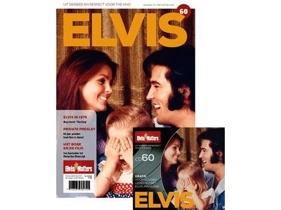Magazine with CD - ELVIS 60