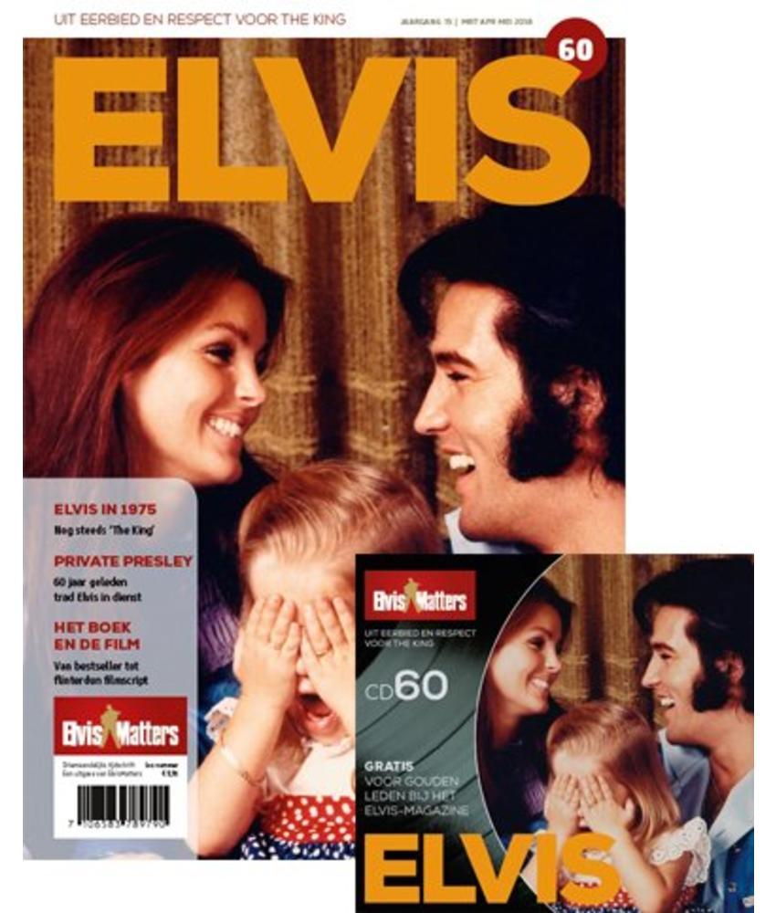Magazine Met CD - ELVIS 60