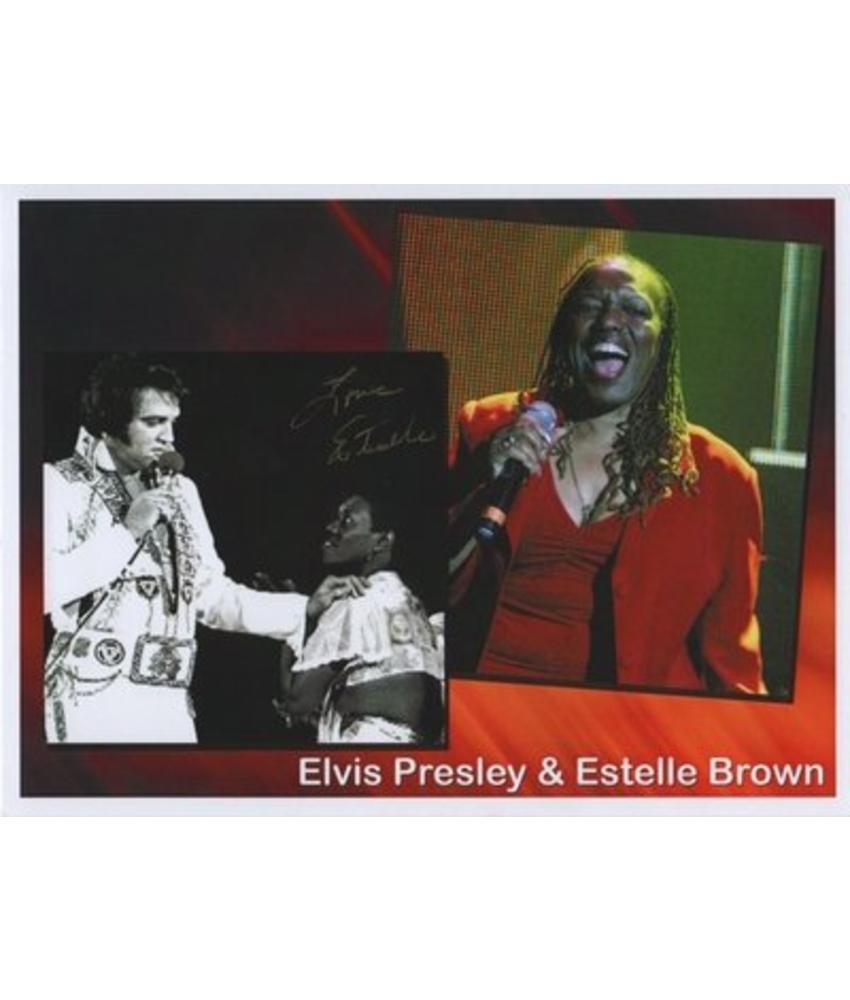 Gesigneerde foto - Estelle Brown