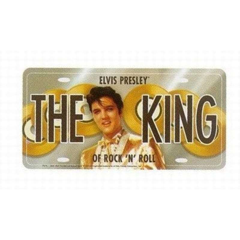 Kenteken - Elvis Presley The King