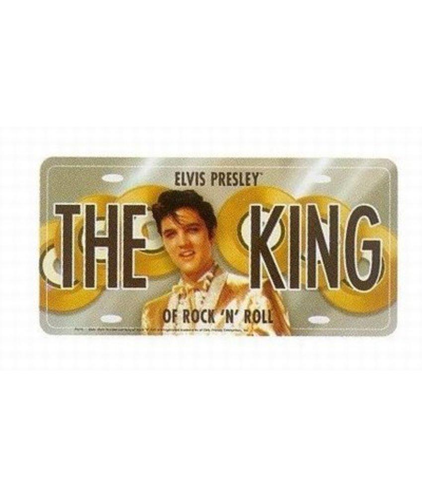 License plate - Elvis Presley The King