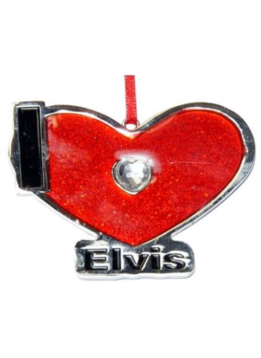 Ornament T5 - I Love Elvis
