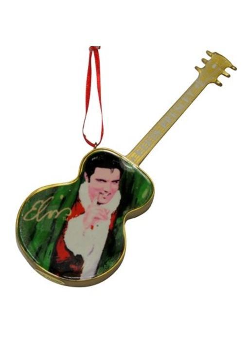 Ornament T5 - Santa Elvis Green